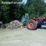 Vendo legname in bancali in tutta italia